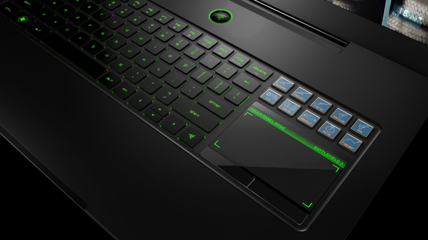 Razer Introduces World's First True Gaming Laptop - MP1st