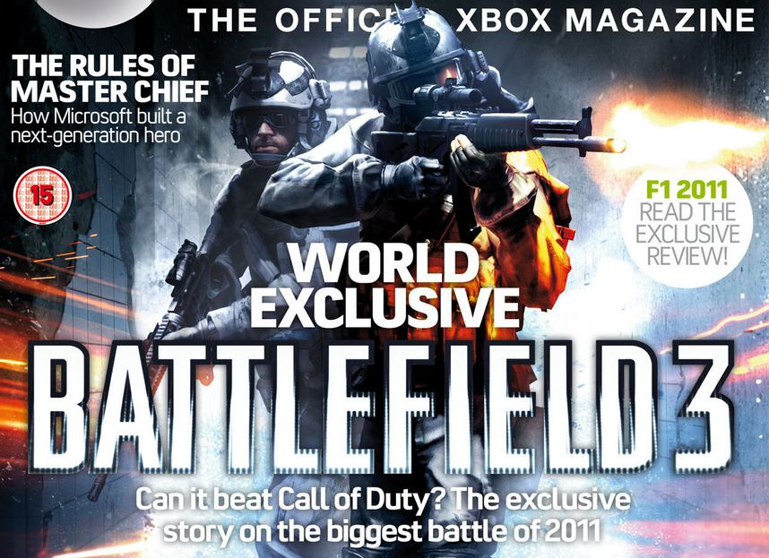Battlefield 3 Magazine Cover