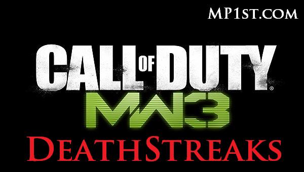 Call of Duty MW3 Death Streaks