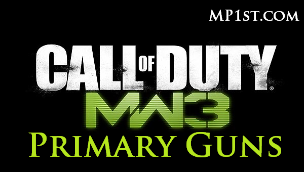 The Complete Modern Warfare 3 Primary Weapons List - 33