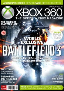, Official Xbox Magazine Features 360 version of Battlefield 3, MP1st, MP1st
