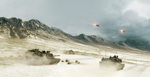 Battlefield 3 Tanks and Jets