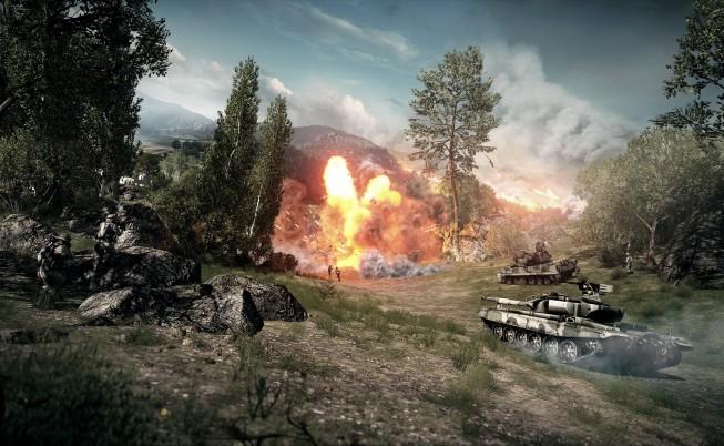 Battlefield-3 Tank