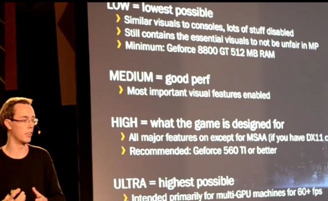 GeForce LAN Key Notes