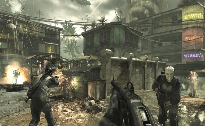 modern warfare 3 multiplayer screenshot