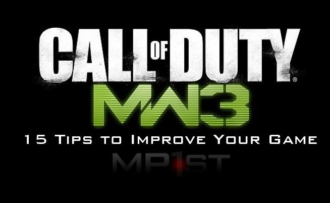 MW3 15 Tips