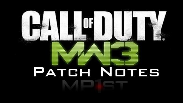 Shotgun Mw3 Patch Mw3 Patch 1.08 Notes – Shotgun