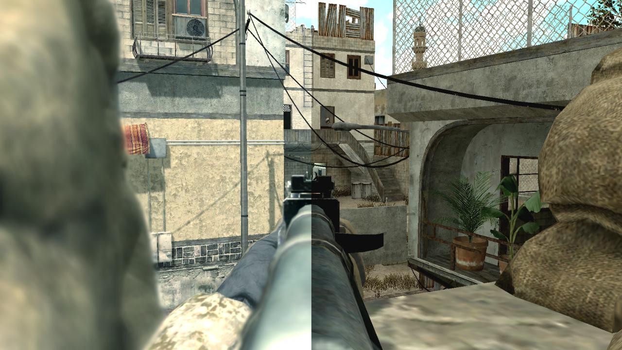 Рейтинг серверов Call of Duty 4: Modern Warfare.