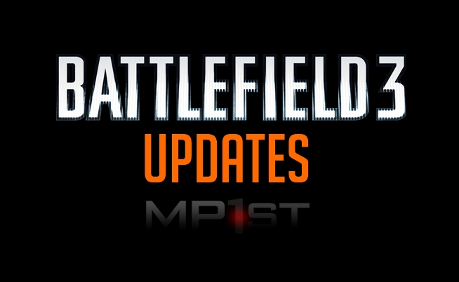 Battlefield 3 Updates in Black