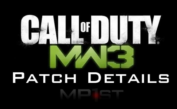 Nueva actualización de MW3 para WII en Enero MW3-Patch-Details-600x368