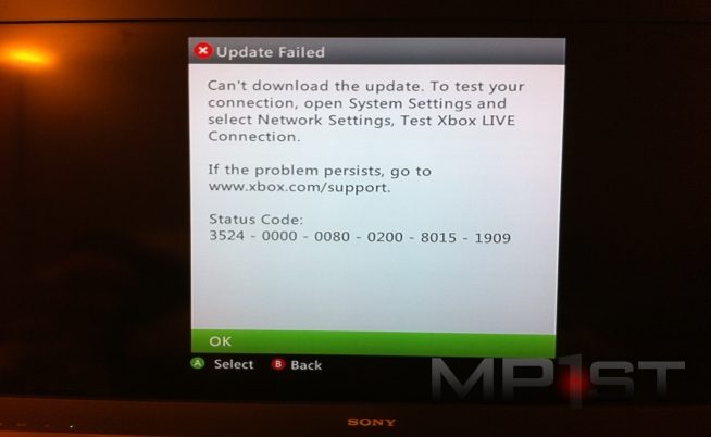 Xbox New Dashboard Problems
