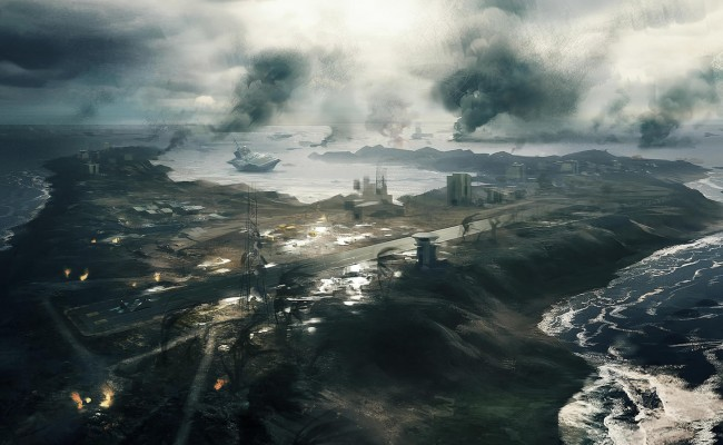 DICE Presents The New 5-Flag Design of Battlefield 3′s Wake Island