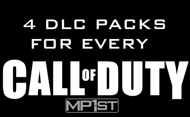 COD 4 DLC Packs