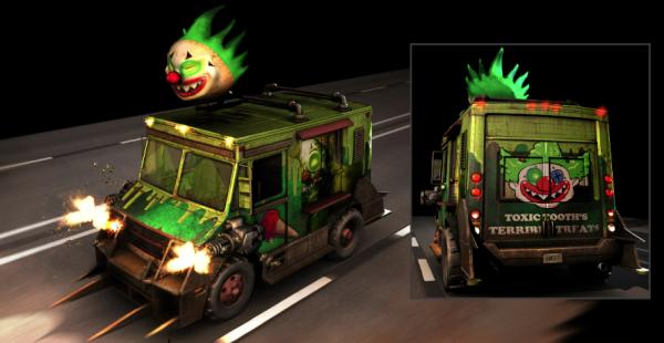 , Twisted Metal – New Details on Custom Vehicle Skins with Images, MP1st, MP1st
