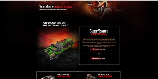 , Twisted Metal Skin Customizer Now Live, MP1st, MP1st