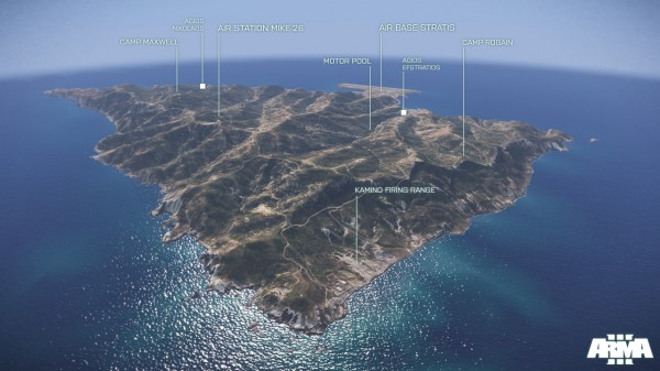 , Arma 3 – Stratis Island Trailer and Screens, MP1st, MP1st