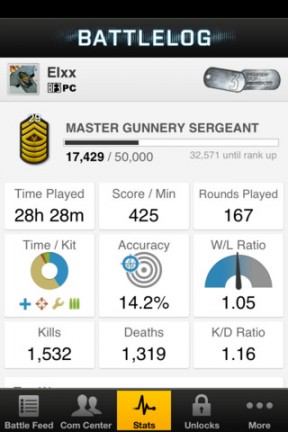 , Battlefield 3 Battlelog Now Available in the App Store, MP1st, MP1st