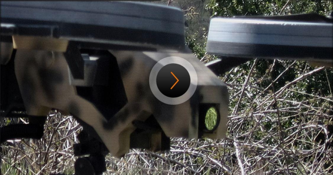 quadrocopter with machine gun