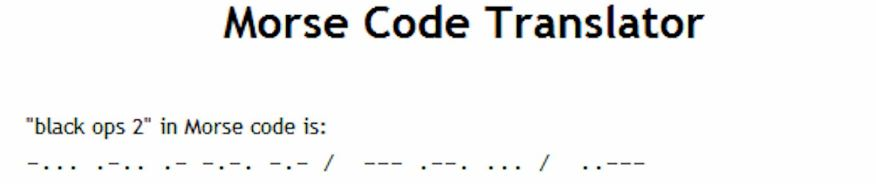 Morse Code - Wwwlearnhamradioinfosample Morse Code Chart. Image