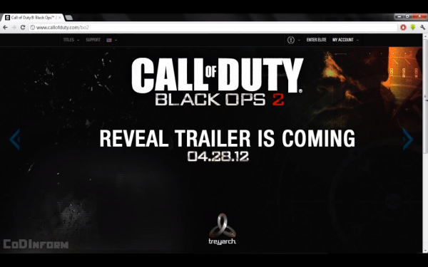 Updated Black Ops 2 Logo Allegedly Leaked Including Debut Trailer