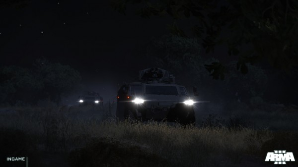 , Arma 3 New Screens and Lighting Video, MP1st, MP1st