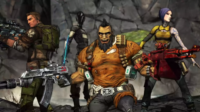 Borderlands 2 - Special Shift Codes Inbound, Nets You Special Class