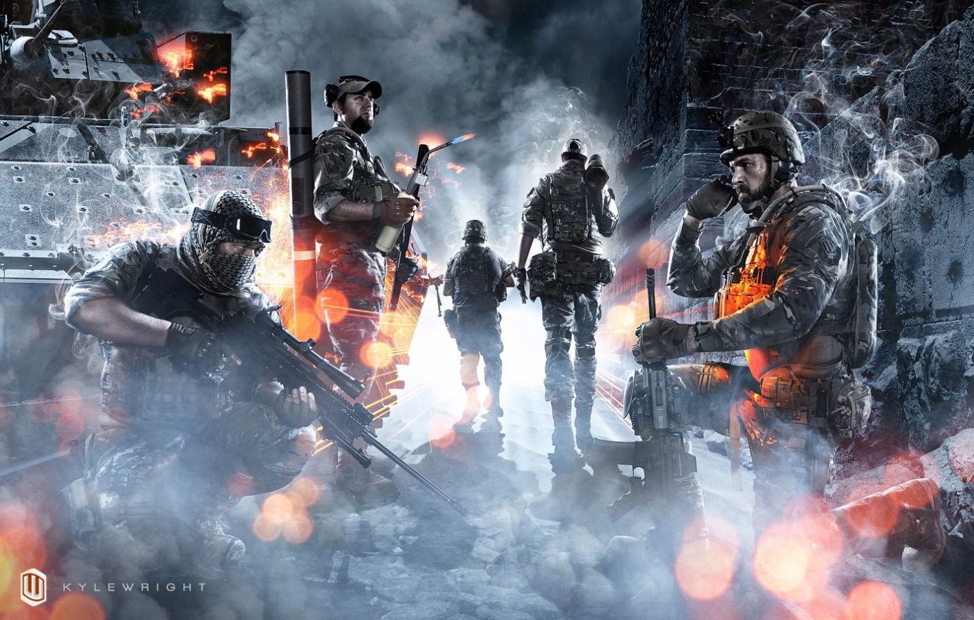 Be Advised Jaw Dropping Battlefield 3 Artwork Spotted
