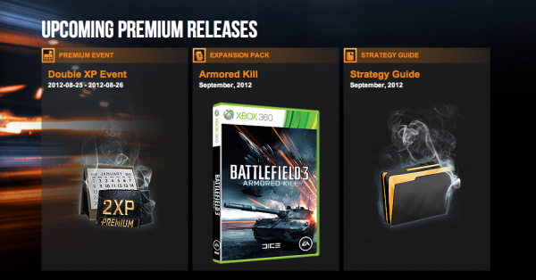 , Incoming Battlefield 3 Premium Double XP Weekend, MP1st, MP1st