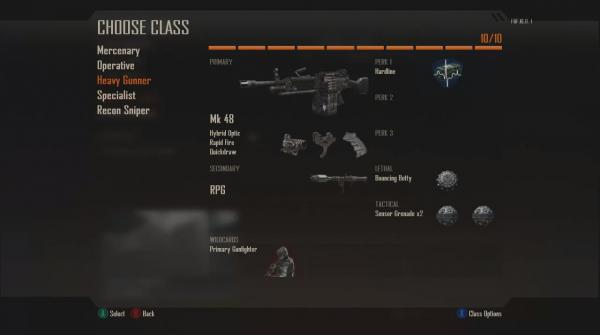 Оружие, перки, грузы, классы в Call of Duty: Black Ops 2