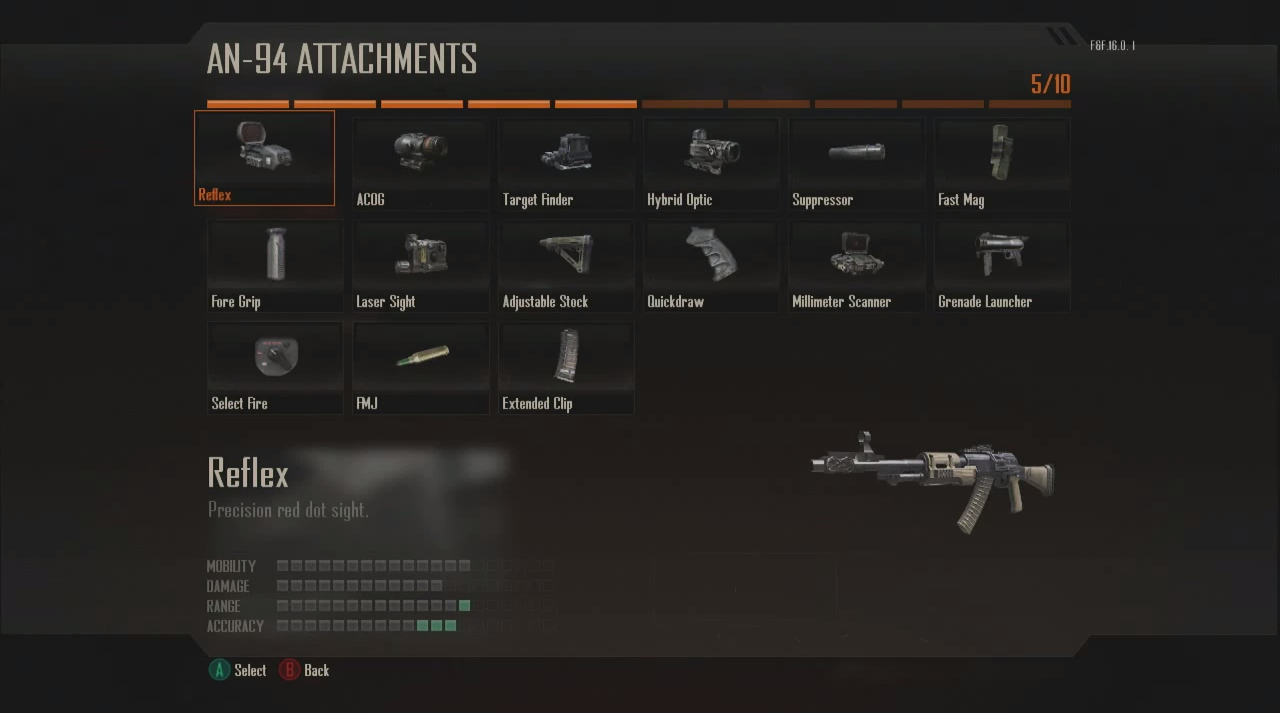 Black Ops 2 Multiplayer Overview Weapons Attachments Wildcards