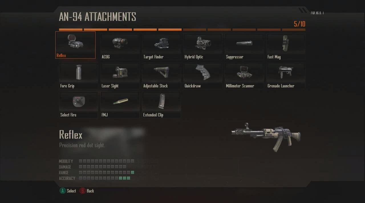 Black Ops 2 Guns