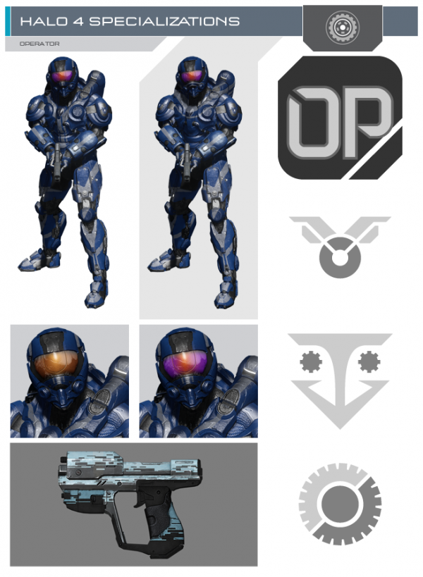 , Halo 4 War Games DLC Pass Sold Separately, New Specialization Armor and Weapon Images, MP1st, MP1st