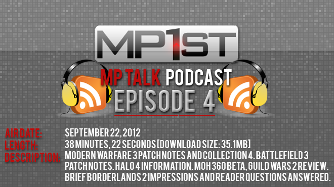 MP Talk – The Official MP1st Podcast, Episode 4