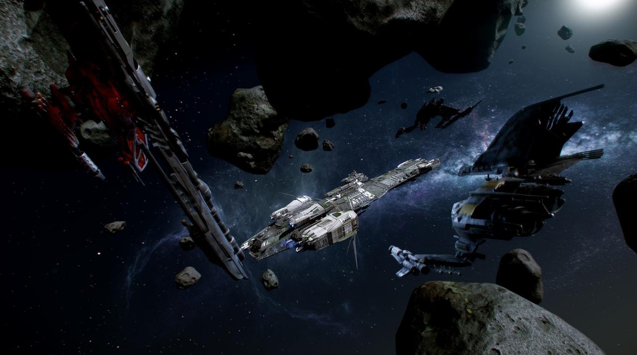 broken space ship - photo #21