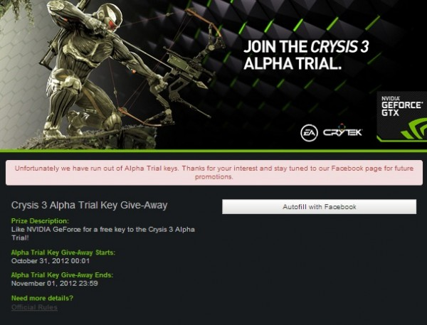 , Crysis 3 Closed Alpha Testing Begins November 2nd, MP1st, MP1st