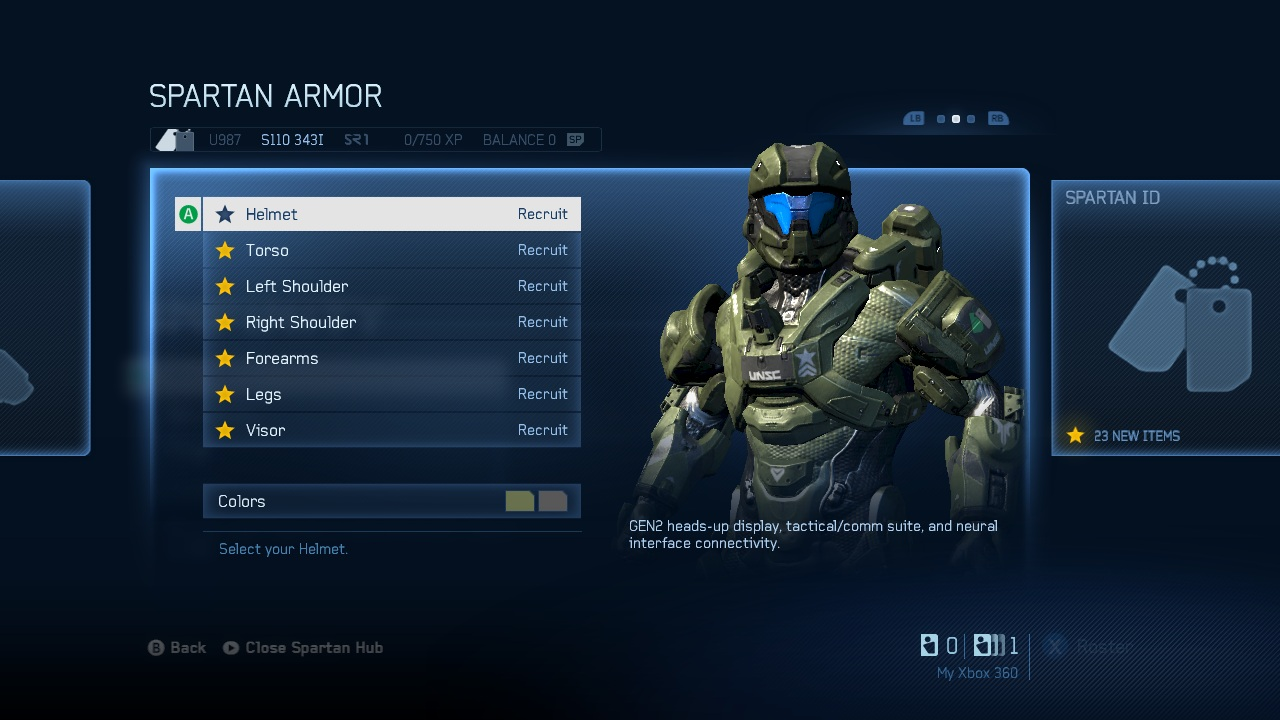 New Details on the Halo 4 Progression System, More