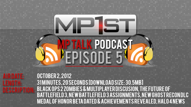 MP Talk – The Official MP1st Podcast, Episode 5