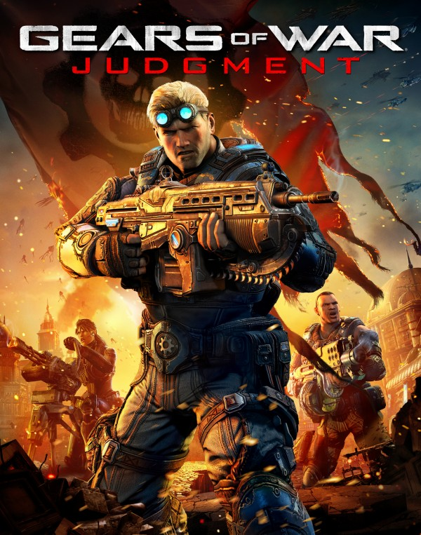 , New Gears of War: Judgment Key Art Features Baird, Cole and Hendrik, MP1st, MP1st