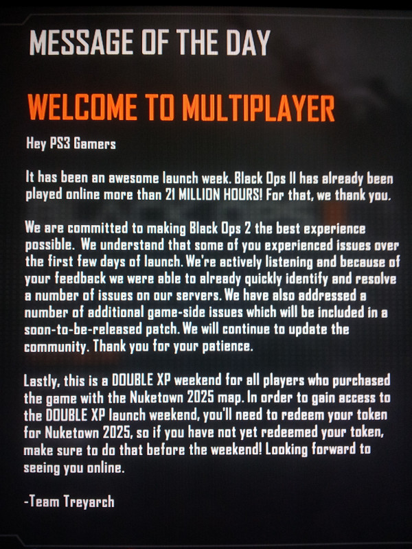 bo2 dlc matchmaking Thanks to the connection based matchmaking in black ops 2,  dlc the primary filter for matchmaking is dlc maps please try again later.