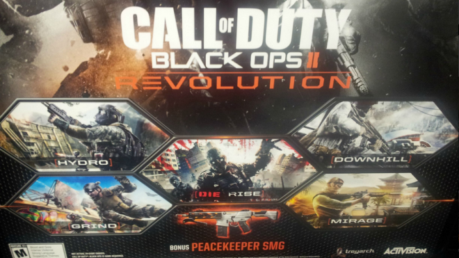 [Updated] Black Ops 2 Revolution DLC Detailed by Amazon UK