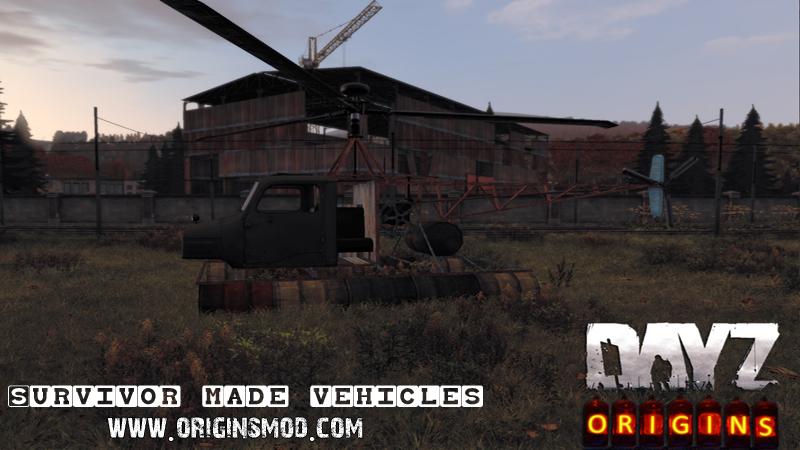 DayZ Origins Vehicle List