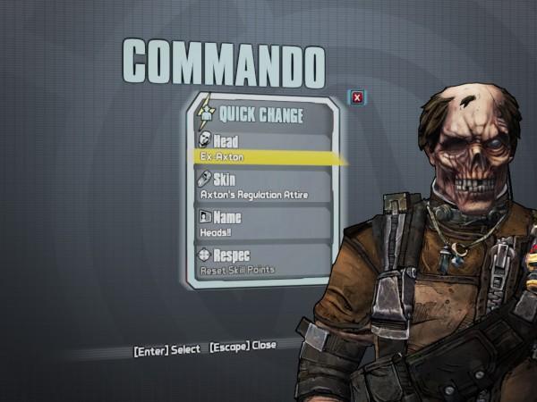 Commando Skin