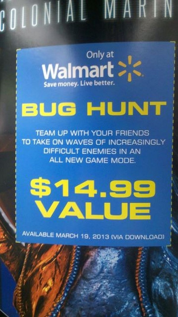 ", Aliens: Colonial Marines ""Bug Hunt"" DLC Leaked, Pricing And Release Date Revealed, MP1st, MP1st"