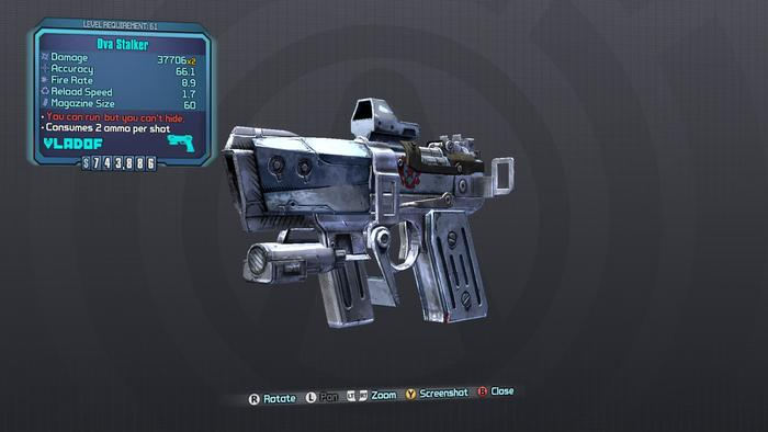 Borderlands 2 Pearlescent Weapons