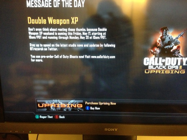 Double XP MP1st