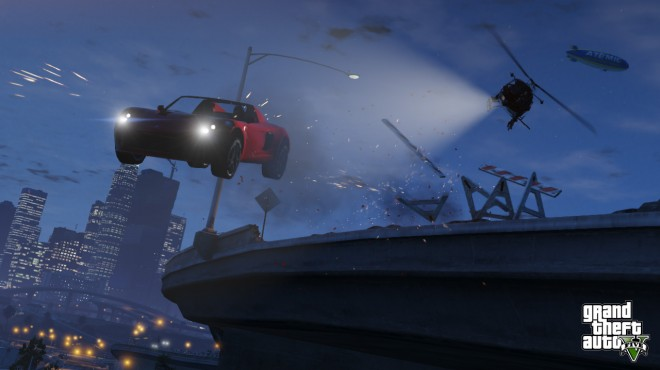 New Grand Theft Auto V Screens Show Off Even More GTA Action