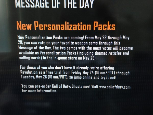 , Black Ops 2 – New Personalization Packs Incoming, Try Revolution DLC For Free This Weekend, MP1st, MP1st