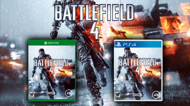 Check Out The Battlefield 4 Xbox One and PlayStation 4 Box Art