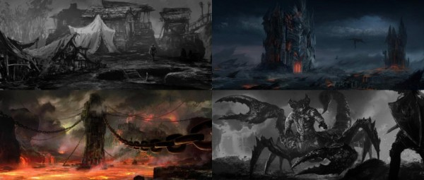 New Concept Art Released By From Software