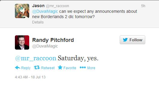 , New Borderlands 2 DLC To Be Announced Soon, According To Gearbox President, MP1st, MP1st